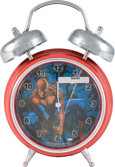 Spiderman Singing Alarm Clock