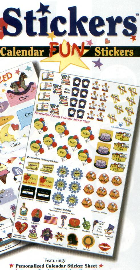 Children S Calendar With Stickers : Storytime personalized children s books