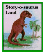 Story-O-Saurus Land Coloring Book